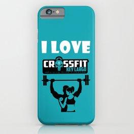 Crossfit Key Largo iPhone Case