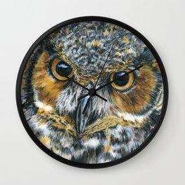 Octavious by Teresa Thompson Wall Clock