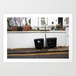 Surface Tension: 310 Renfrew Street Art Print