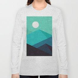 Minimalist Landscape XIII Long Sleeve T-shirt