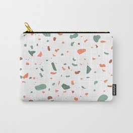 Terrazzo - Rust & Sage Carry-All Pouch