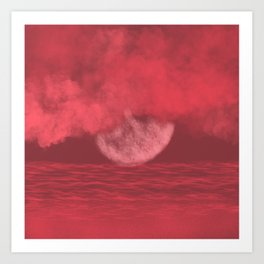Catching Moonbeams Art Print