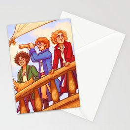 Piratey Trio Stationery Cards