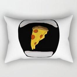 Eating pizza Rectangular Pillow