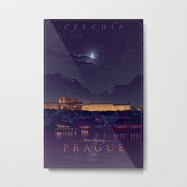 Visit Mystery Prague Metal Print
