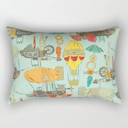steampunk sky Rectangular Pillow