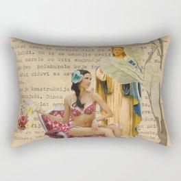 splash collage Rectangular Pillow