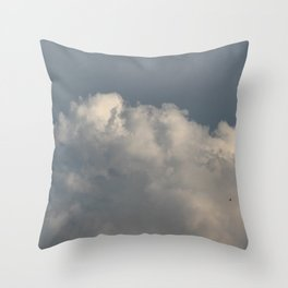 Resonate | sky photography Throw Pillow