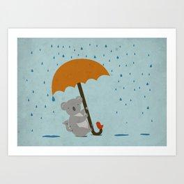 Safe! Art Print