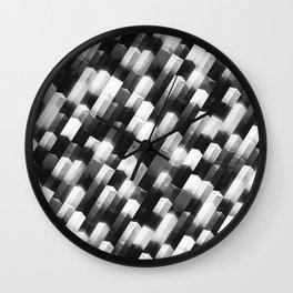 we gemmin (monochrome series) Wall Clock