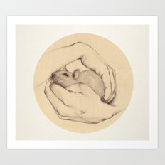 Organic VI Art Print