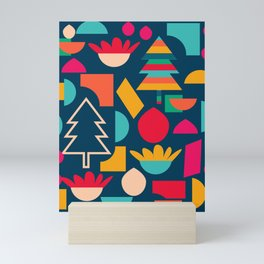 Funny Christmas games Mini Art Print