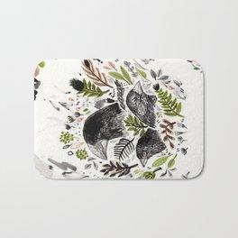 DARWIN FINCHES Bath Mat