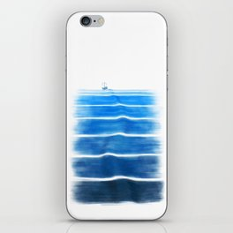 SEA TRIP iPhone Skin