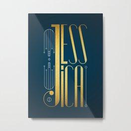 Jessica Metal Print