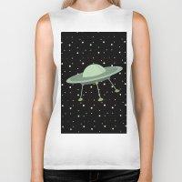 ufo Biker Tanks featuring UFO by Mr and Mrs Quirynen