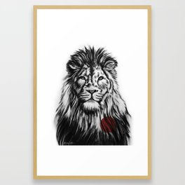I Am With You Framed Art Print
