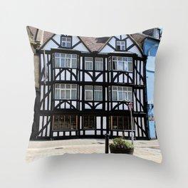 Shakespeares Home Throw Pillow