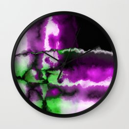Crossing Paths Wall Clock