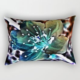 Surreal Cherry Blossom Rectangular Pillow