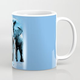 Elephant with child - Morning Coffee Mug