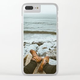 Element: Water (001) Clear iPhone Case