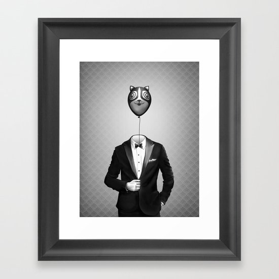 Mr. Kitty Framed Art Print