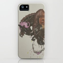 Sass and Style iPhone Case
