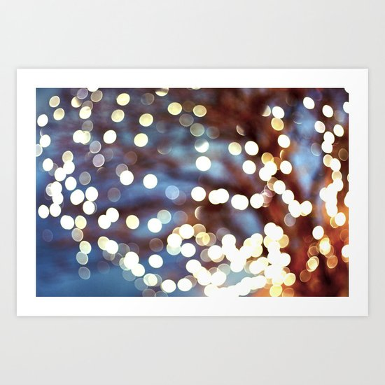 What Are You Doing New Year's Eve? Art Print