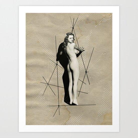 nude, no. 19 Art Print
