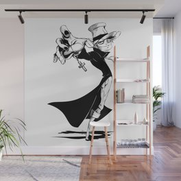 The Caster Wall Mural