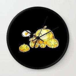 Pumpkaboo Wall Clock