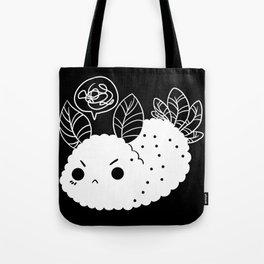 Angry Sea Slug Bunny Tote Bag