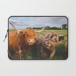 Highland Cows - Blep Laptop Sleeve