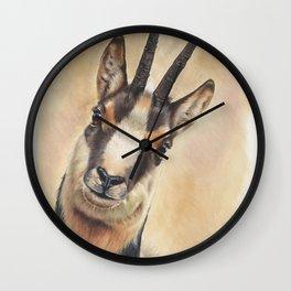 chamois Wall Clock