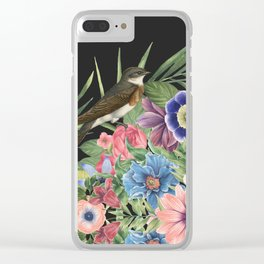 BE JOYFUL Clear iPhone Case