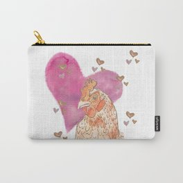 Chicken Love Carry-All Pouch