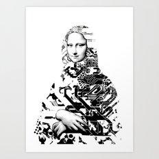 Mona Lisa Platina 1 Art Print