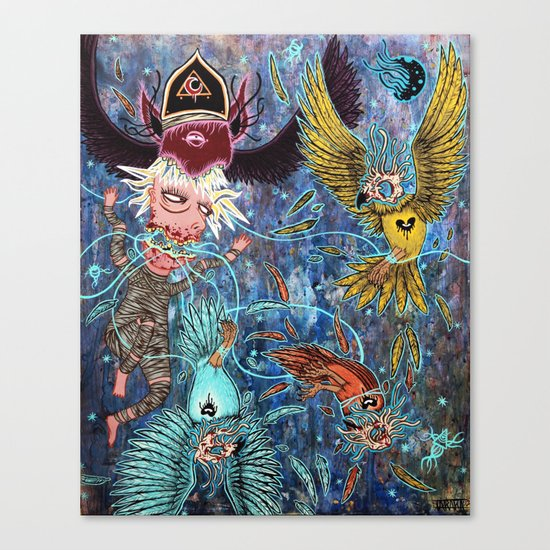 Spirit Migration Canvas Print