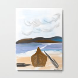 Mixed blessings--an allegory Metal Print