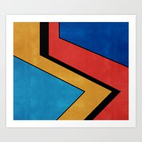 road Art Prints featuring Road by Nope