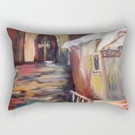 Evening in Rome Rectangular Pillow