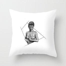 Muse III Throw Pillow