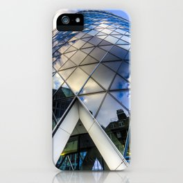 The Gherkin London iPhone Case