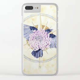 Unfurl - Unravel Series Clear iPhone Case