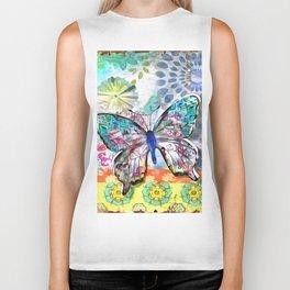 Fantasía con Mariposas Biker Tank