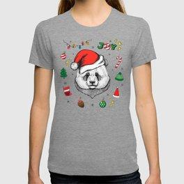 Merry Christmas Panda T-shirt