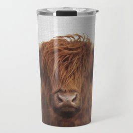 Highland Cow - Colorful Travel Mug