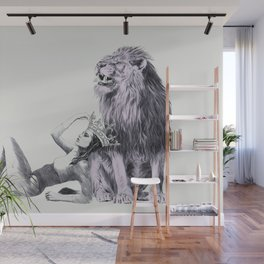 The Queen (Leo) Wall Mural