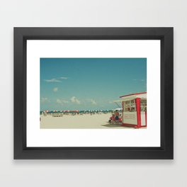 Miami Beach... Framed Art Print